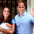 Принц Уильям и Кейт Миддлтон опубликовали снимки наследника ФОТО