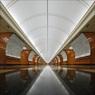 """В петербургском метро закрылась еще одна станция - """"Парк Победы"""""""