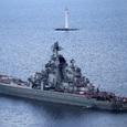 Крейсеры «Петр Великий» и «Маршал Устинов» вышли на учения в Баренцево море