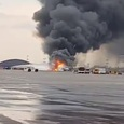 В Шереметьево загорелся пассажирский самолет