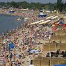 Курорты Азовского побережья заполнены менее чем наполовину