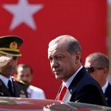 Появилось видео драки охранников Эрдогана с протестующими в Вашингтоне