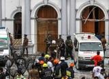 Опубликовано видео подрыва автомобиля на Шри-Ланке