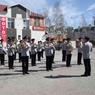 Оркестр полиции устроил необычный флешмоб в Ханты-Мансийске (ВИДЕО)