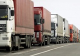 Минтранс: Украина задержала российские грузовики без предупреждения