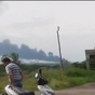 Во время авиашоу в честь национального Дня детей в Таиланде разбился истребитель