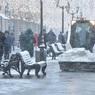 Мэр Москвы объявил свободный режим посещения школ в связи с сильным снегопадом