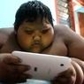 10-летний индонезийский мальчик набрал 192 кг и хочет вылечиться (ФОТО)
