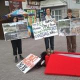 В Москве прошел митинг в защиту парков