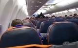 Появилось видео задержания угонщика рейса Сургут-Москва