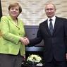 Путин встретился с Ангелой Меркель в Сочи