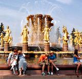 На днях в Москве заработают фонтаны