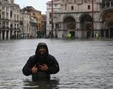 Венецию накрыло сильнейшее за последние 50 лет наводнение