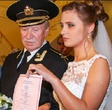 86-летний Иван Краско пожаловался, что почти не видит свою молодую жену