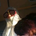 Ковидиотизм крепчает: в Бийске больная Covid ездит в автобусе в странном костюме
