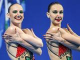 Ищенко и Ромашина победили в произвольной программе дуэтов на ЧМ в Казани