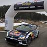 WRC: В утопающем ралли Швеции лидирует Ожье