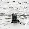 В Японии выпал небывалый снег - выше головы (ВИДЕО)