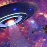 Житель США снял на видео огромный НЛО, зависший в небе