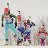 Биатлон: Норвежки выиграли золото эстафеты домашнего ЧМ