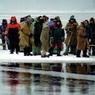 Оторвавшаяся в Хабаровском крае льдина унесла 40 человек и 28 машин