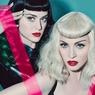 Эротик-сет Мадонны и Кэти Перри наделал много шума в прессе ФОТО