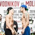 Молина выиграл у Проводникова единогласным решением судей