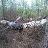 Обнаруженный в Туве Ми-8 практически полностью сгорел