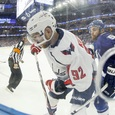 Хоккеист Кузнецов поел пельменей из Кубка Стэнли