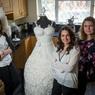 В Англии создали съедобное платье невесты