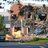 Взрыв газа в ТЦ в США: поврежденное здание показали с воздуха