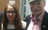 Молодая жена 86-летнего Краско написала книгу о том, как жить со стариком