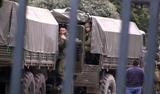 Российские военные заняли воинскую часть Укарины в Новоозерном