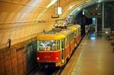 Из-за мощного взрыва на АЗС в Волгограде пришлось остановить движение скоростных трамваев