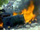 Смертник на автомобиле врезался в кортеж главы ВСМ в Кабуле