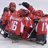 Сборная России по следж-хоккею вышла в финал Паралимпиады