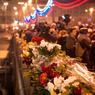 На прощание с Борисом Немцовом уже пришли сотни человек (ФОТО)