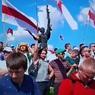 Протестующих, сломавших водомет во время акции в Минске, нашли и задержали