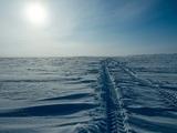 В Омске любителей ледяной горки не остановила даже случившаяся на ней смерть