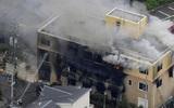 Число погибших при пожаре на студии аниме в Японии возросло до 25