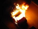 В Удмуртиии водитель врезался в дерево и сгорел в собственном авто