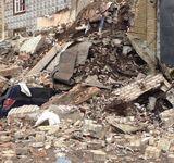 Очевидцы обнародовали видеозапись с места обрушения пятиэтажки в Москве
