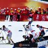 Лыжные гонки: В Лиллехаммере Норвегия заняла весь подиум в скиатлоне