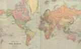 В сети нашли «удивительную» карту мира 1922 года