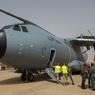 В Севилье разбился военно-транспортный самолет