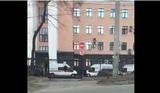 Появилось видео с места нападения на приёмную ФСБ. Названо имя нападавшего