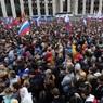 На согласованный митинг в Москве официально пришли около 20 тысяч человек