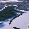Житель Самарской области вмерз в лед во время рыбалки