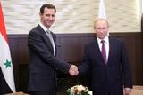 Путин и Асад провели телефонные переговоры