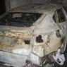 Поджигатель уничтожил девять машин на Рублёвском шоссе